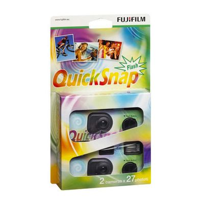 Fujifilm Quick Snap 400 27 Flash 2er Pack