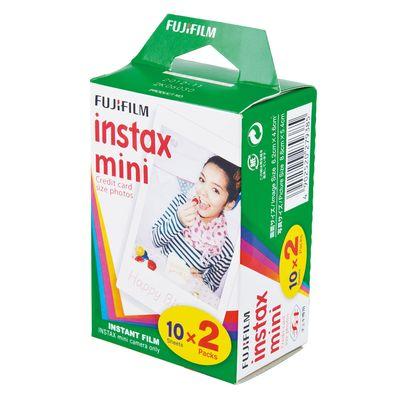 Fujifilm Instax Mini Film DP 2x10 Aufnahmen (Doppelpack)