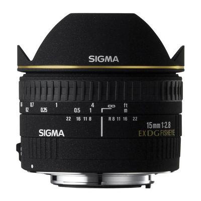 Sigma AF 15mm f/2,8 EX DG diag.Fisheye Sigma