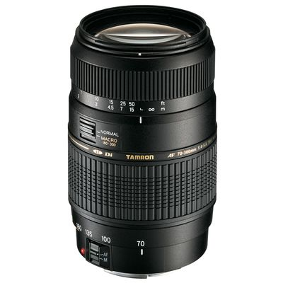 Tamron AF 70-300mm f/4,0-5,6 Di LD Mac. Canon EF