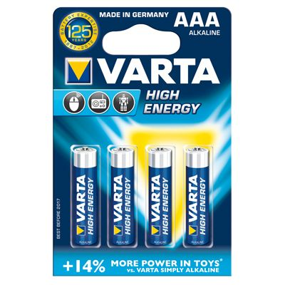 Varta High Energy AAA Micro 4er-Pack