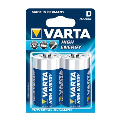 Varta High Energy D Mono 2er-Pack