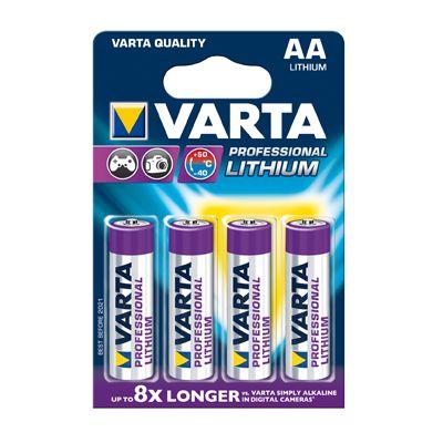 Varta Professional Lithium AA Mignon 4er-Pack