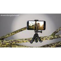Hama Ministativ Flex für Smartphone und GoPro, 14 cm schwarz