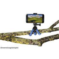 Hama Ministativ Flex für Smartphone und GoPro, 14 cm blau