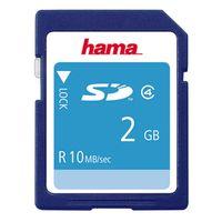 Zum Vergrößern hier klicken. Artikel: Hama SD Class 4 2 GB