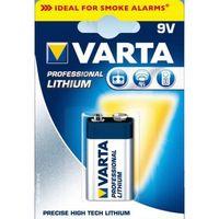Zum Vergrößern hier klicken. Artikel: Varta Professional Lithium 9V-Block